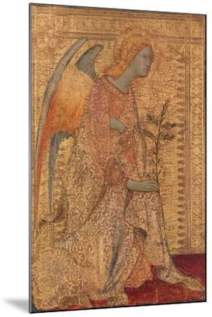 The Angel of the Annunciation, C.1333-Simone Martini-Mounted Giclee Print