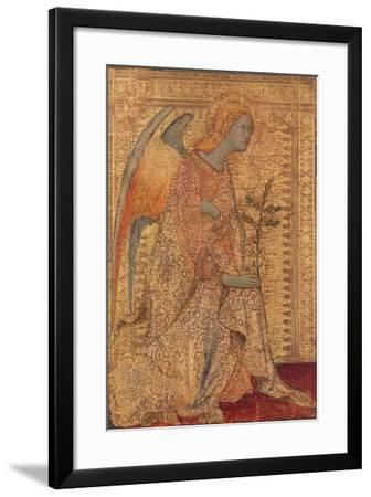 The Angel of the Annunciation, C.1333-Simone Martini-Framed Giclee Print