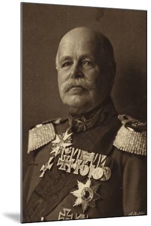 General Von Eichorn--Mounted Photographic Print