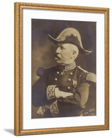 General De Castelnau--Framed Photographic Print