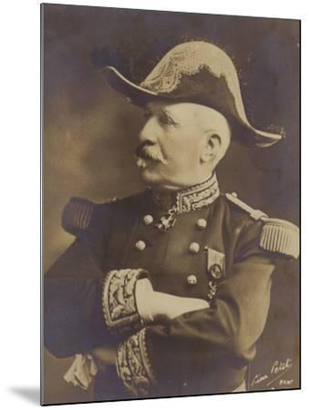 General De Castelnau--Mounted Photographic Print