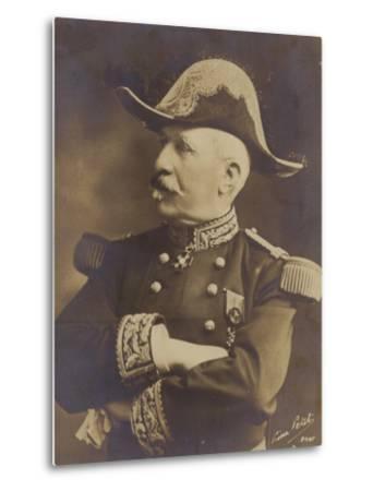General De Castelnau--Metal Print