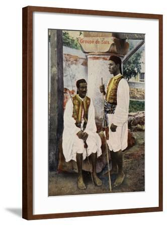 Group of Sais--Framed Photographic Print