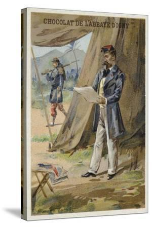 Horace Vernet, French Painter--Stretched Canvas Print