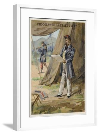 Horace Vernet, French Painter--Framed Giclee Print