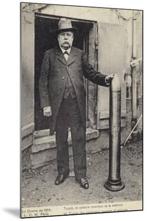 Eugene Turpin--Mounted Photographic Print