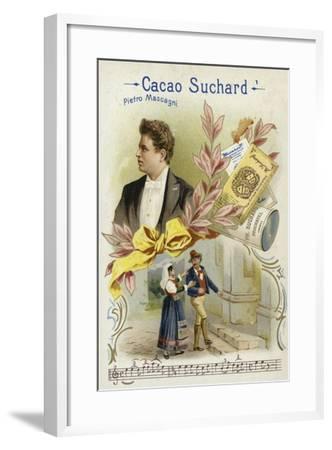 Pietro Mascagni, Italian Composer--Framed Giclee Print