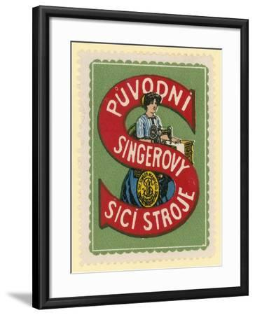 Singer Sewing Machines--Framed Giclee Print