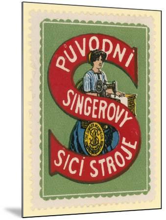 Singer Sewing Machines--Mounted Giclee Print