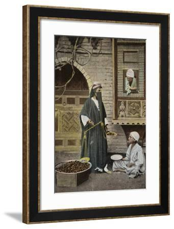 Arab Woman with Scales--Framed Photographic Print