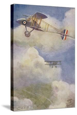 Royal Aircraft Factory Fe 8 Fighter Plane--Stretched Canvas Print