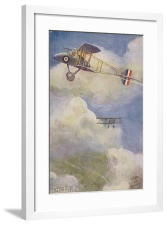 Royal Aircraft Factory Fe 8 Fighter Plane--Framed Giclee Print
