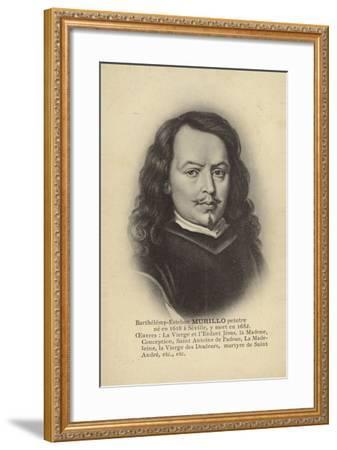 Bartolome Esteban Murillo, Spanish Painter--Framed Giclee Print