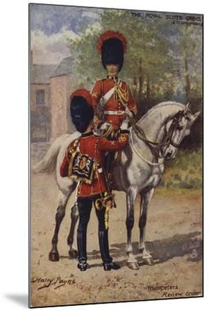 The Royal Scots Greys-Henry Payne-Mounted Giclee Print