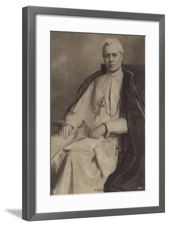 Pope Pius X--Framed Photographic Print
