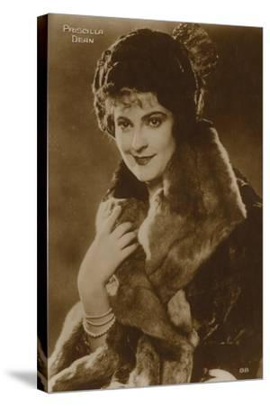 Priscilla Dean, American Stage and Film Actress--Stretched Canvas Print