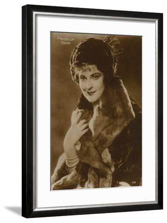 Priscilla Dean, American Stage and Film Actress--Framed Photographic Print