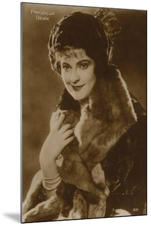 Priscilla Dean, American Stage and Film Actress--Mounted Photographic Print