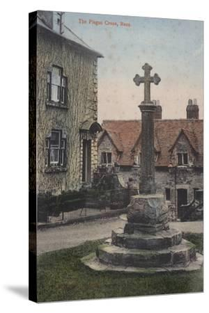 The Plague Cross, Ross--Stretched Canvas Print