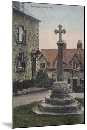 The Plague Cross, Ross--Mounted Photographic Print