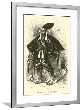 A Daimio in Court Dress--Framed Giclee Print