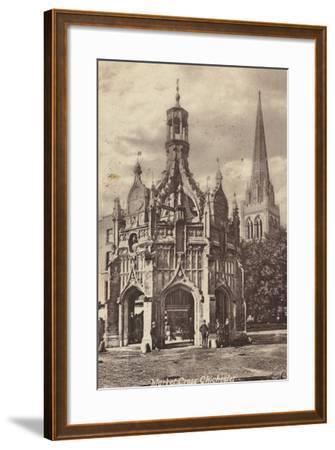 Market Cross, Chichester--Framed Photographic Print