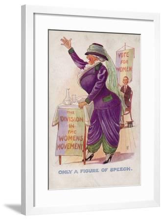Only a Figure of Speech--Framed Giclee Print