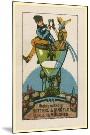 Setterl and Gindele Wine Wholesalers, Munich--Mounted Giclee Print