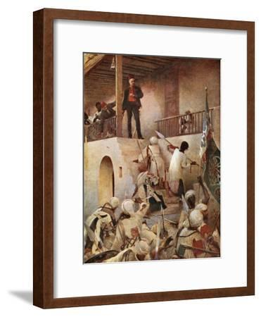 The Death of General Gordon-George William Joy-Framed Giclee Print