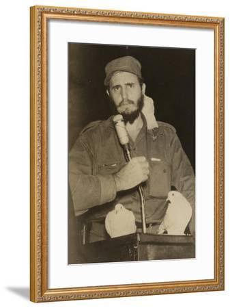 Fidel Castro--Framed Photographic Print