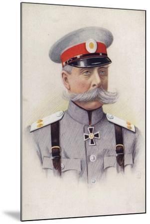 General Von Rennenkampf--Mounted Giclee Print