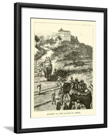Journey to the Palace of Amber--Framed Giclee Print