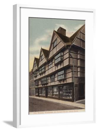 Mr Sapsea's House, Edwin Drood--Framed Photographic Print