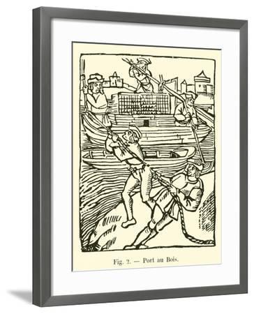 Port Au Bois--Framed Giclee Print
