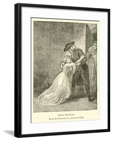 Olivia Restored--Framed Giclee Print