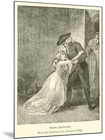 Olivia Restored--Mounted Giclee Print