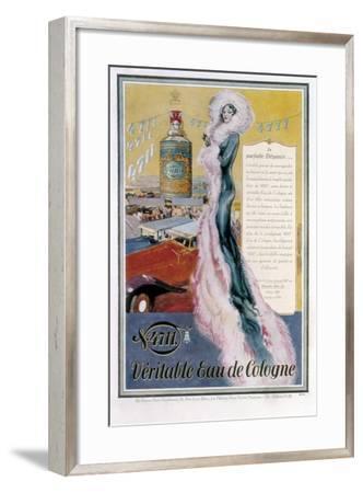 Advertisement for '4711' Eau De Cologne, 1931--Framed Giclee Print