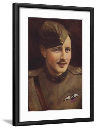 William Leefe Robinson VC--Framed Giclee Print