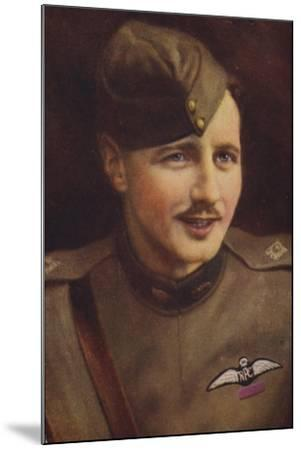 William Leefe Robinson VC--Mounted Giclee Print
