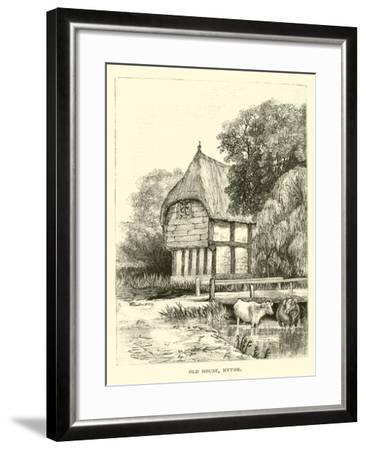 Old House, Hythe--Framed Giclee Print
