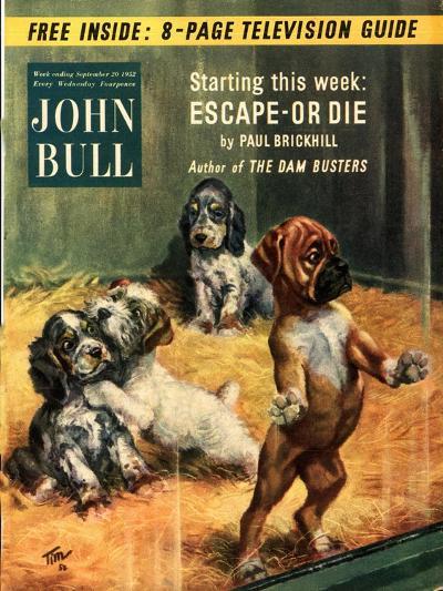 Front Cover of 'John Bull', September 1952--Giclee Print