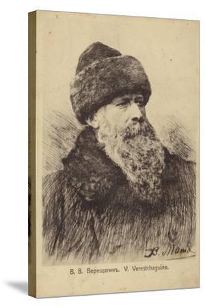 Vasily Vereshchagin, Russian Artist--Stretched Canvas Print