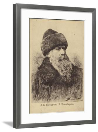 Vasily Vereshchagin, Russian Artist--Framed Giclee Print