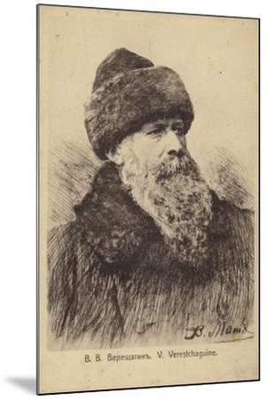 Vasily Vereshchagin, Russian Artist--Mounted Giclee Print