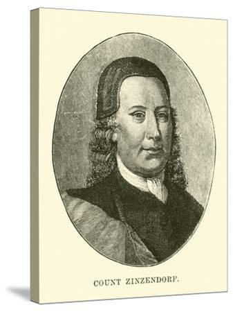 Count Zinzendorf--Stretched Canvas Print