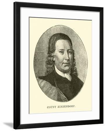 Count Zinzendorf--Framed Giclee Print