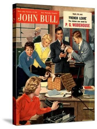 Front Cover of 'John Bull', November 1951--Stretched Canvas Print