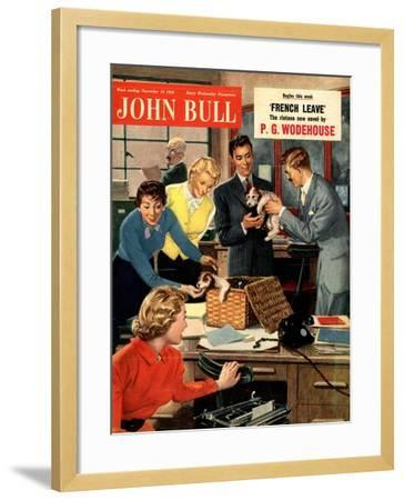 Front Cover of 'John Bull', November 1951--Framed Giclee Print