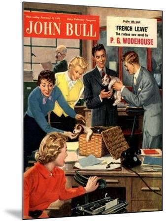 Front Cover of 'John Bull', November 1951--Mounted Giclee Print
