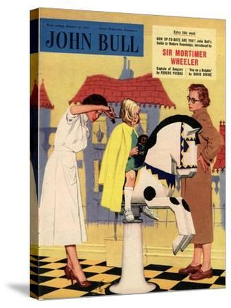 Front Cover of 'John Bull', October 1955--Stretched Canvas Print